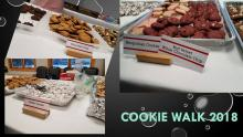 Different types of cookies are available